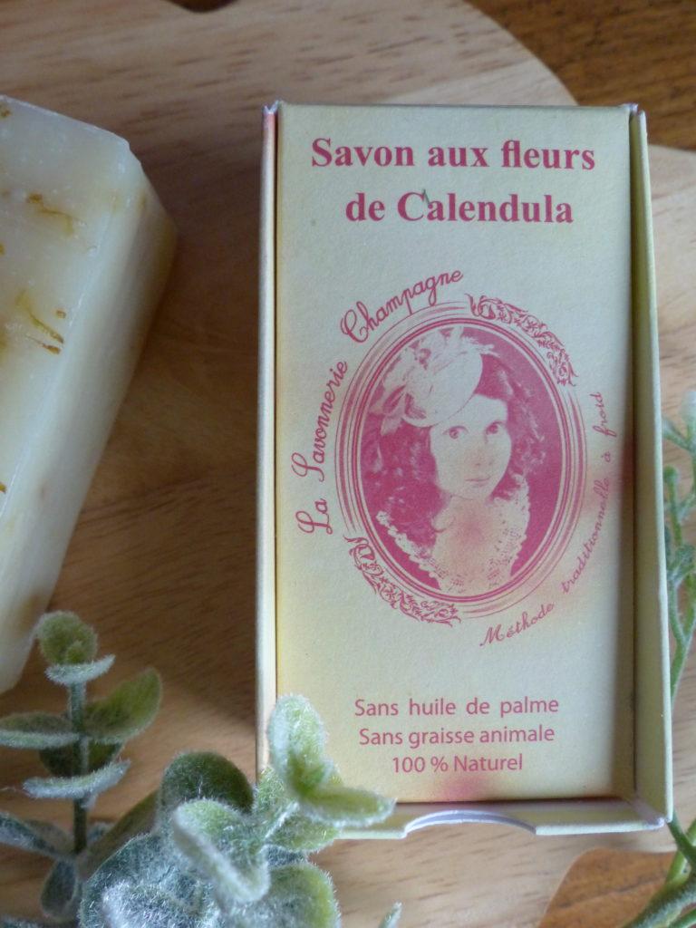 Revue : Savon aux fleurs de Calendula