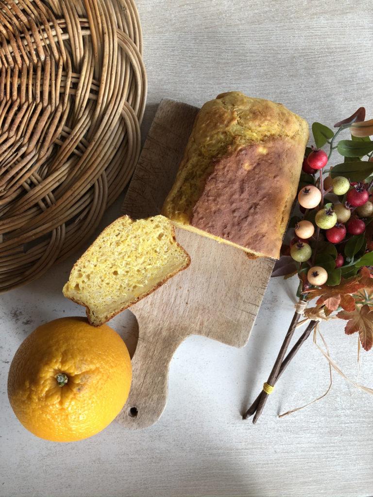 Fait maison - Cake à la pulpe d'orange