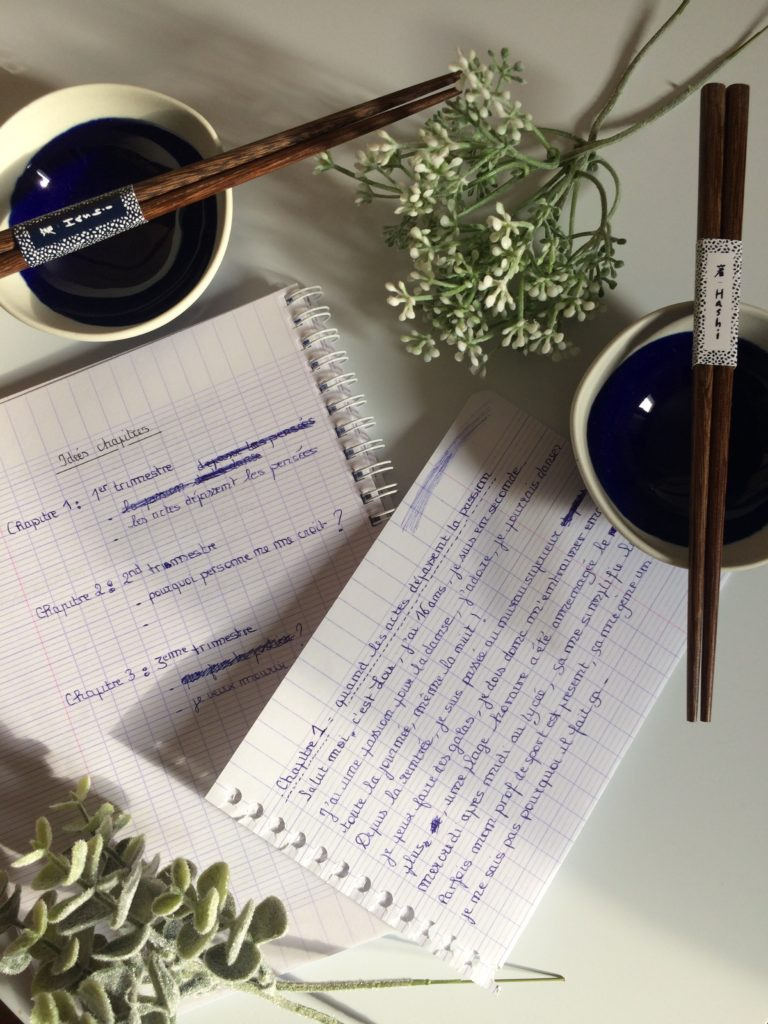 Ecriture - Mon organisation