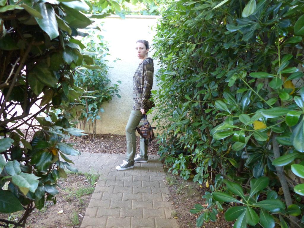 En mode camouflage