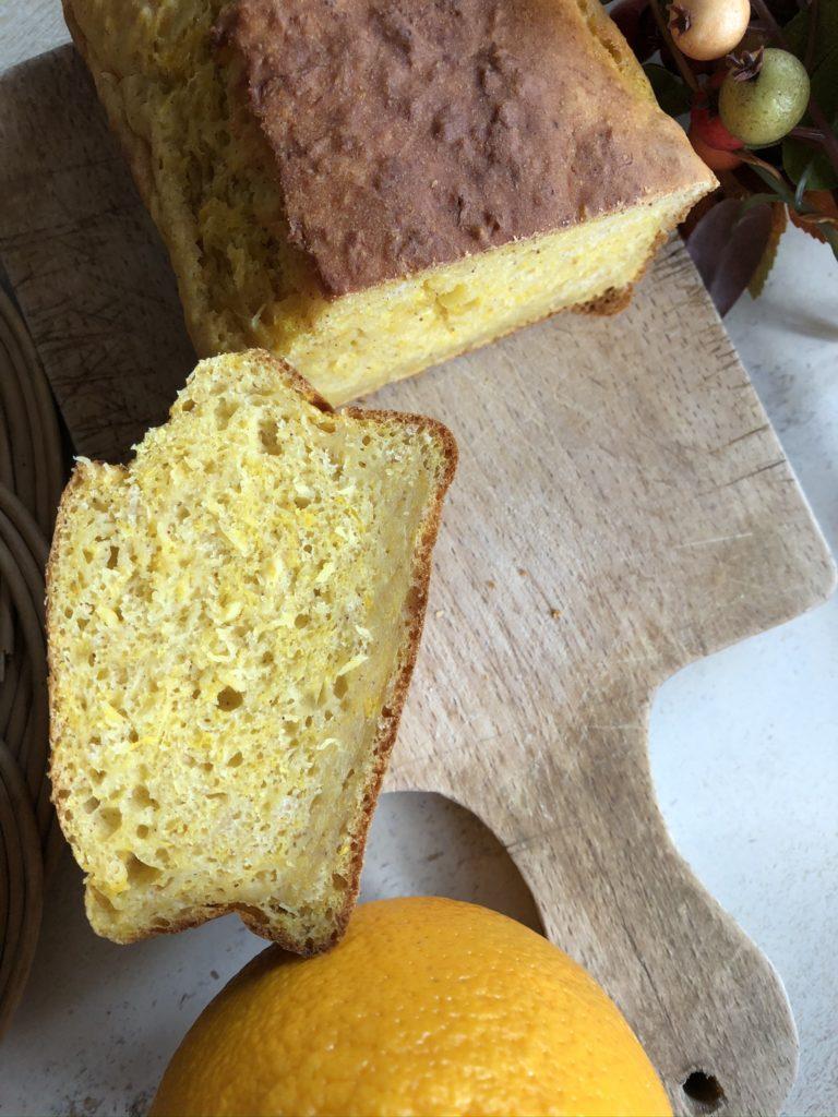 Cake à la pulpe d'orange